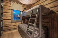 OPPLEV NYE RØROSHYTTA VISNINGSHYTTE! | FINN.no Rustic Bunk Beds, Bunk Bed Designs, Wooden House, New Homes, Relax, Cottage, Real Estate, Cabin, Furniture
