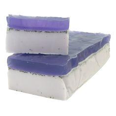 Hacer Jabón Exfoliante. Un sencillo paso a paso para Hacer Jabón Exfoliante de violetas. Hemos decidido hacerlo en barra porque es estupendo para regalar, y es tan original como vistoso.