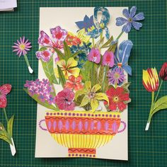 Alice Pattullo's 'Parlour Pastimes; Paper Flower Arranging Workshop' is being held on Saturday 16th September 2017 at Yorkshire Sculpture Park