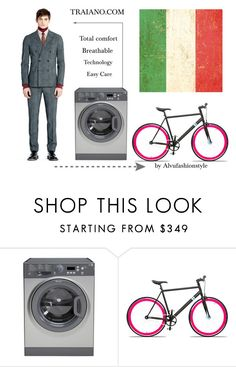 Traiano from Pitti Uomo 90 by alvufashionstyle on Polyvore featuring Solé Bicycles, men's fashion and menswear