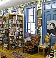 Square Books in Oxford, Mississippi, near Ole Miss, is one of the largest independence bookstores in the US. Next door are Off Square Books (travel & cookbooks) and Square Books, Jr.