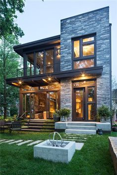 Join us in celebrating Red Diamond Achiever 2016 Winner John Kraemer & Sons as their work on this beautiful Lake Calhoun Modern Organic project made the top of Houzz's most popular exteriors list in 2016. Wanting to take full advantage of the views of Lake Calhoun, Integrity Wood-Ultrex Windows allowed for expansive walls, which optimized its small footprint and open design. Learn how this house finds the balance between big views and privacy from adjacent homes here.