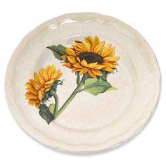 """Sunflower 10"""" Dinner Plate"""