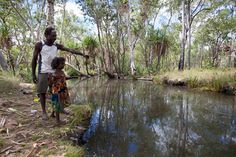 Aboriginal conservation in Arnhem Land - Australian Geographic Fishing in a Billabong. Gone Fishing, Best Fishing, Fishing Australia, Brisbane Queensland, Native Country, Visit Australia, Indigenous Art, View Image, Billabong