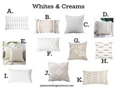 Modern & Cheap Throw Pillow Covers in Every Color! - Jessica Welling Interiors Rustic Decorative Pillows, Modern Throw Pillows, Cheap Throw Pillow Covers, Navy Blue Throw Pillows, Boho Bedding, Orange Yellow, Couches, Beds, Chairs
