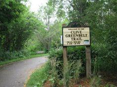 Photo of Clive Greenbelt Trail