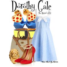 Inspired by Judy Garland as Dorothy Gale in 1939's The Wizard of Oz.