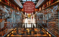 Community Post: 28 Beautiful Quotes About Libraries: The Walker Library of the History of Human Imagination - Connecticut