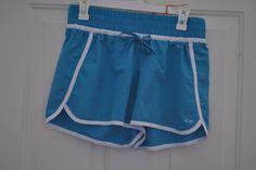 EUC Women's C9 Champion ATHLETIC SHORTS Running Gym TEAL/Blue COLOR Sz Medium #Champion #Shorts SOLD