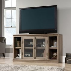 Better Homes And Gardens Crossmill Living Room Set Lintel Oak Includes Tv Stand Coffee Table