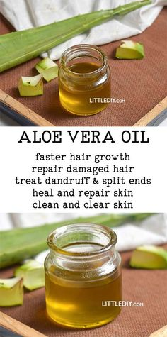 Aloe vera is used in a lot of skin care, hair care and healthy recipes. It is one of the best skin care and hair care ingredients! Aloe vera oil is available commercially and is certainly expensive. B | Life made simple #AloeVeraSkinCare