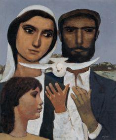 Ressam / Nuri İyem ( 1915-2005 )  Baris Özlemi-1982