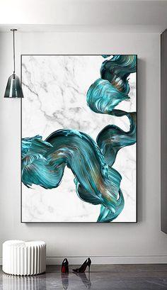 Abstract Wall Art, Abstract Print, Canvas Wall Art, Wall Art Prints, Painting Abstract, Bel Art, Ouvrages D'art, Coastal Wall Art, Drip Painting