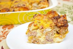 Nutritious Snack Tips For Equally Young Ones And Adults Maple Sausage Breakfast Strata Breakfast Strata, Breakfast Items, Sausage Breakfast, Breakfast Casserole, Best Breakfast, Egg Casserole, Breakfast Burritos, Brunch Recipes, Breakfast Recipes