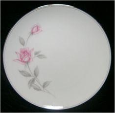 Noritake China Rosemarie Pink Rose Salad Plate 6044