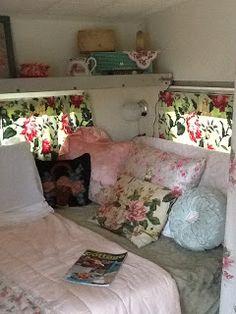 Pink Shasta...interior photo