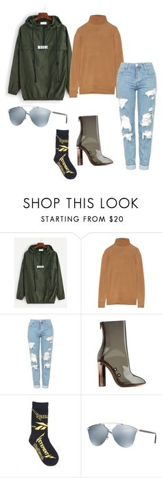 """""""streetstyle"""" by rlhbae ❤ liked on Polyvore featuring J.Crew, Topshop, adidas Originals, Vetements and Christian Dior"""