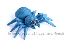 Spooky spider (paper quilling)