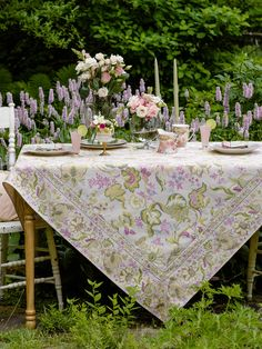 Evelyn Tablecloth | Table Linens U0026 Kitchen, Tablecloths :Beautiful Designs  By April Cornell