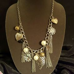 Jewelry Chain necklace with lots of bling! Jewelry Necklaces