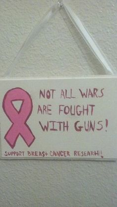 Breast Cancer Awareness Sign