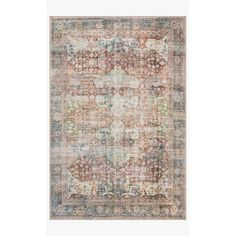"Shop Alexander Home Tremezzina Printed Shabby Chic Botanical Distressed Rug - 8'4"" x 11'6"" - On Sale - Overstock - 20662969"