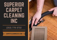 Quality air duct cleaning services with experienced, educated technicians and state-of-the-art equipment. #SuperiorCarpetCleaningInc #CarpetSteamCleaning  #UpholsteryCleaning  #AirDuctCleaning  #TileCleaning  #GroutCleaning  #PetStainRemoval  #OderRemoval  #CarpetRepair  #CarpetStretching  #RoofCleaning  #HouseCleaning  #GutterCleaning  #PressureWashing  #FreeEstimate  #EmergencyService