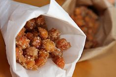 caramelized chickpeas-- not sure this really qualifies as a healthy recipe, but oh my goodness we can pretend!