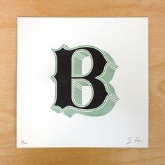 'B' - Jessica Hische