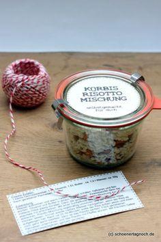 Schöner Tag noch! Food-Blog mit leckeren Rezepten für jeden Tag: Geschenke aus der Küche: selbstgemachte Kürbis-Ris...