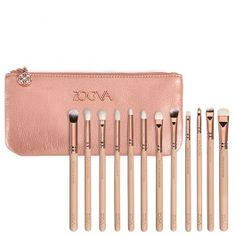 Rose Golden  Vol. 2 Complete Eye Set - Kit de Pinceaux Yeux