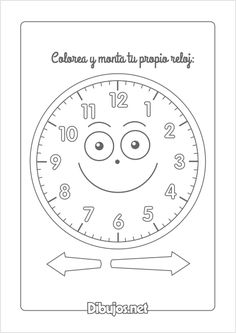 Aprender a leer un reloj y saber qué hora es, es fundamental para el desarrollo de la responsabilidad y la autonomía de los niños. Y con estas 3 hojas de actividades podréis practicar un poco más y demostrar que os las sabéis a la perfección. ¿Listos para aprender las horas? Games For Kids, Activities For Kids, Crafts For Kids, Life Skills Lessons, Classroom Procedures, Telling Time, Preschool Worksheets, Teaching Math, Coloring Pages