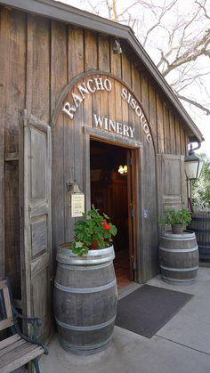 Rancho Sisquoc Winery tasting room, Solvang, Santa Barbara, California by Funkertosh