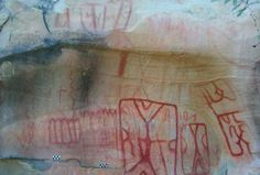 Nearly 5,000 ancient cave paintings have been discovered in Burgos, Mexico.The red, white, black and yellow images depict humans hunting, fishing, gathering, as well as deer, lizards and centipedes. The 4,926 paintings were discovered in 11 sites and are thought to have been created by at least 3 groups of hunter gatherers.  In one cave more than 1,550 images were found, including an image of an atlatl, a Hispanic weapon used for hunting that has not been seen before in paintings in the…