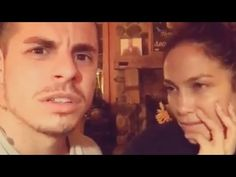 "Jennifer Lopez without makeup and her boyfriend singing ""Starbucks, Yas"" funny moment - YouTube"