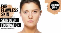 Vegan Faces Skin Deep Organic Foundation