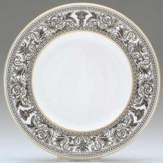Wedgwood Florentine (Black Outlined Dragons) Salad Plate