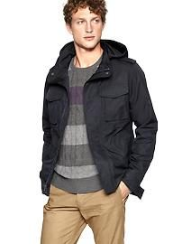 Men's Outerwear: leather jackets, peacoats, wool jackets, trench coats | Gap