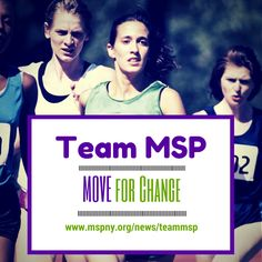 Join the MOVEment! http://teammsp.kintera.org/mspny -- $25 for adults, $15 for kids!