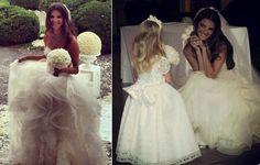 Jeisa Chiminazzo's wedding gown Bride's dress by Vera Wang