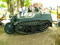 Kleines Kettenkraftrad HK 101 (AKA Kettenrad) A WWII German Half Tracked Motorcycle