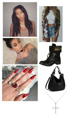 """""""Fire"""" by paukar ❤ liked on Polyvore featuring Soda and Melissa Odabash"""