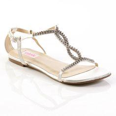 Formal Flat Sandals for Wedding   Wedding Fashion » Unique flat pink wedding shoes