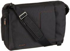 Briggs & Riley Go Messenger Bag Black VB410-4: Amazon.co.uk: Shoes & Bags