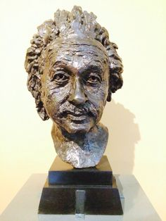Albert Einstein by Jacob Epstein Photo by Jo-anne Foxcroft