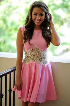 Title Me Princess Dress: Pink