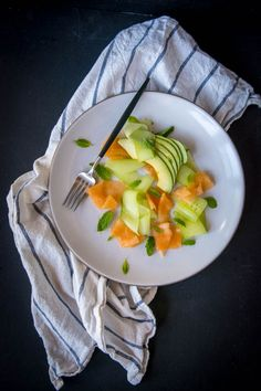 This cantaloupe and cucumber salad is perfect on those days when the summer heat is getting you down and can be ready in 15 minutes.