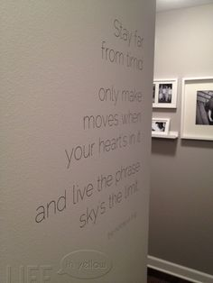 Notorious BIG wall decal quote. I NEED THIS