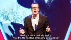 Frankie Boyle On Pets