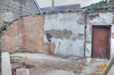 Before - 2012. Following removal of old lean to (next photos).